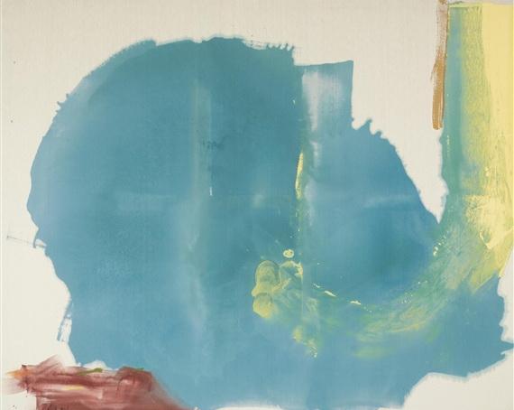 Where Necessary, 1977 - Helen Frankenthaler