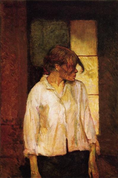 At Montrouge ( Rosa la Rouge), 1886 - 1887 - Henri de Toulouse-Lautrec