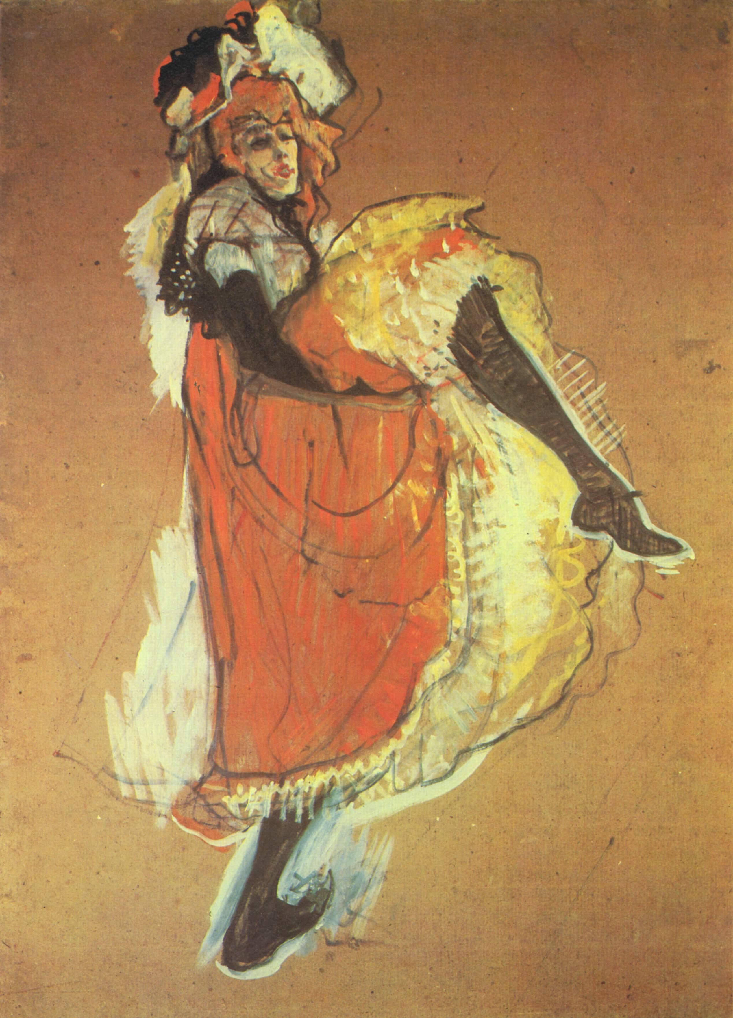 亨利·德·图卢兹-洛特雷克Henri de Toulouse-Lautrec - 水木白艺术坊 - 贵阳画室 高考美术培训