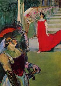 Messaline - Henri de Toulouse-Lautrec