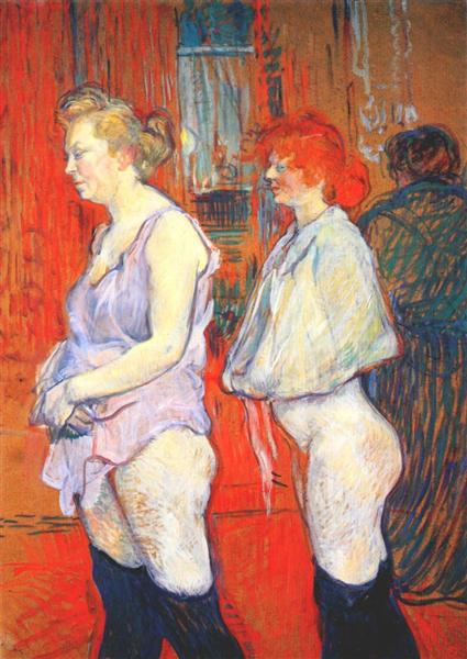 The Medical Inspection - Henri de Toulouse-Lautrec