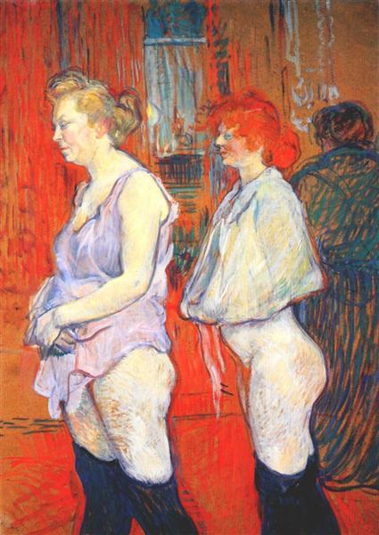 The Medical Inspection, 1894 - Henri de Toulouse-Lautrec