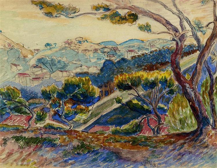 Landscape, 1909 - Henri-Edmond Cross