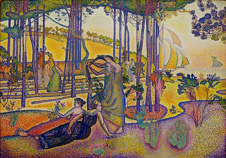 The Evening Air, 1893 - 1894 - Henri-Edmond Cross
