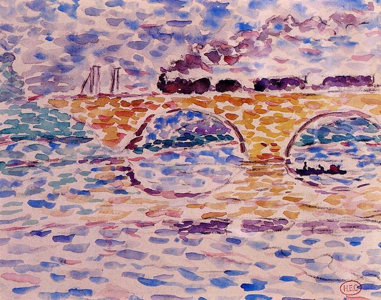 The Viaduct - Henri-Edmond Cross