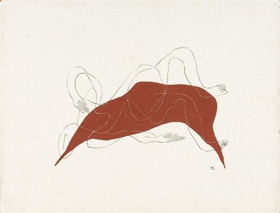 Femme étendue, 1936 - Henri Laurens