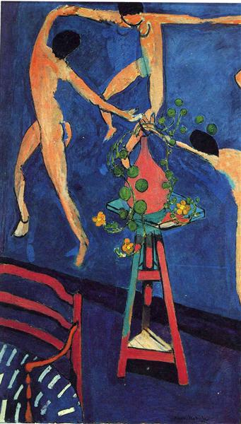 "Nasturtiums with ""The Dance"" (II), 1912 - Henri Matisse"