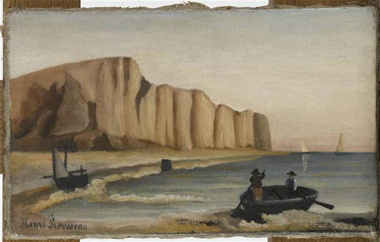 Cliffs, c.1897 - Henri Rousseau