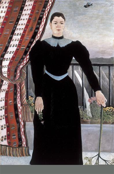 Portrait of a Woman, 1895 - Henri Rousseau
