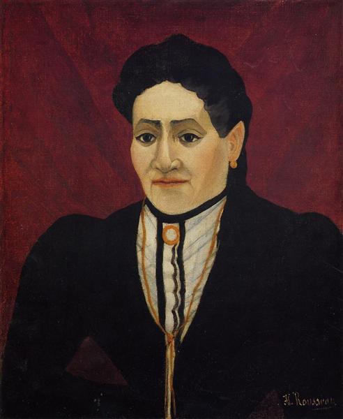 Portrait of A Woman, 1905 - Henri Rousseau