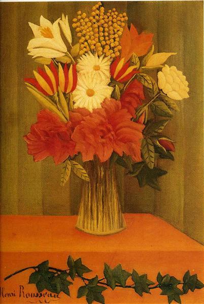 Vase of Flowers, 1901 - 1902 - Henri Rousseau