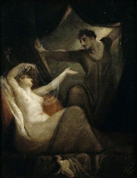 A Scene from 'The Wife of Bath's Tale', 1812 - Johann Heinrich Füssli