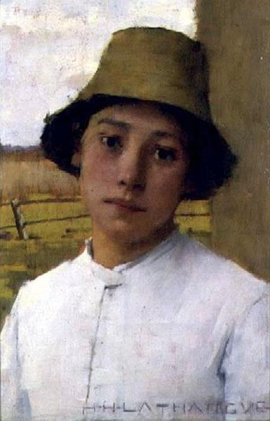 The Young Farmhand, 1885 - Henry Herbert La Thangue