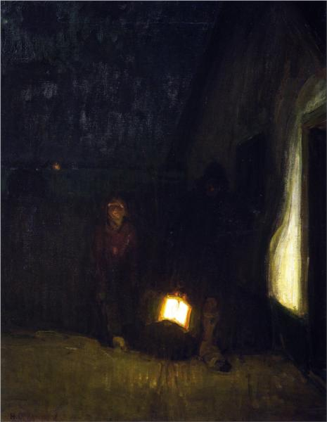 Night, 1905 - Henry Ossawa Tanner