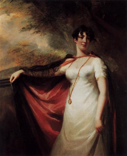 Portrait of Mrs. Anne Hart, c.1810 - Генри Реборн