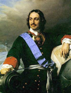 Petru cel Mare - Paul Delaroche