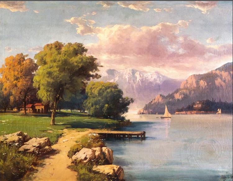 Landscape - Hoca Ali Riza