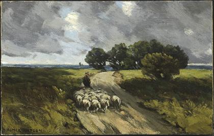 Herding Sheep, 1910 - Homer Watson