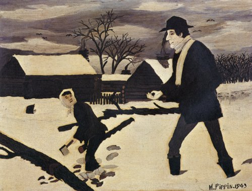 Abe Lincoln, The Good Samaritan, 1943 - Horace Pippin