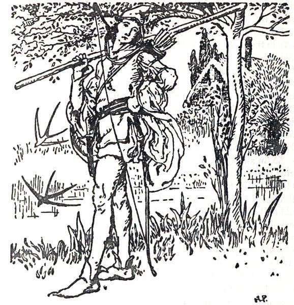 The Merry Adventures of Robin Hood 5 - Howard Pyle