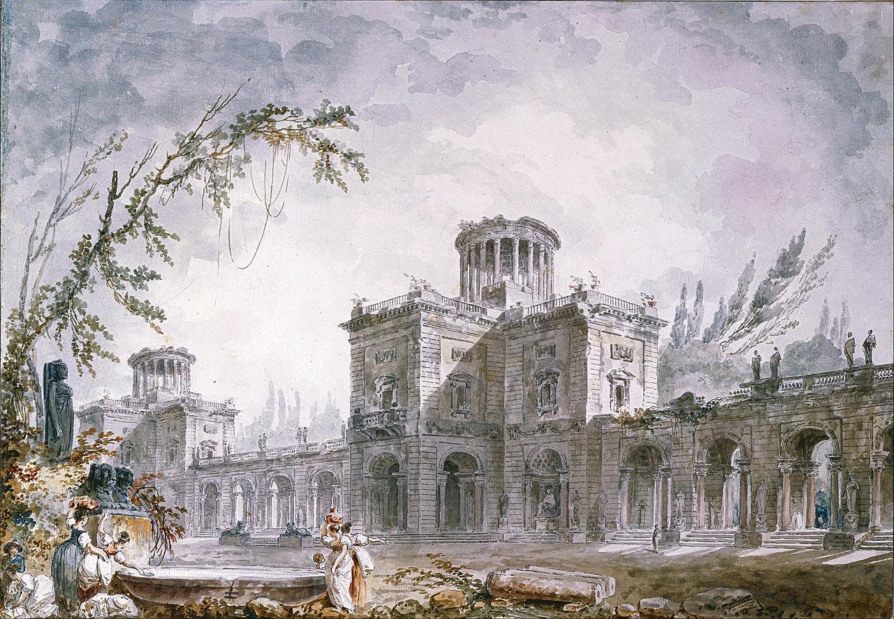 Architectural Fantasy, 1760