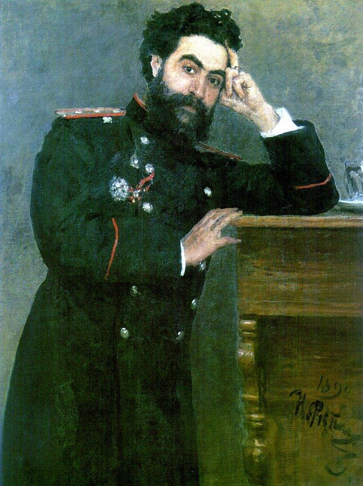 Portrait of I.R. Tarhanov, 1892