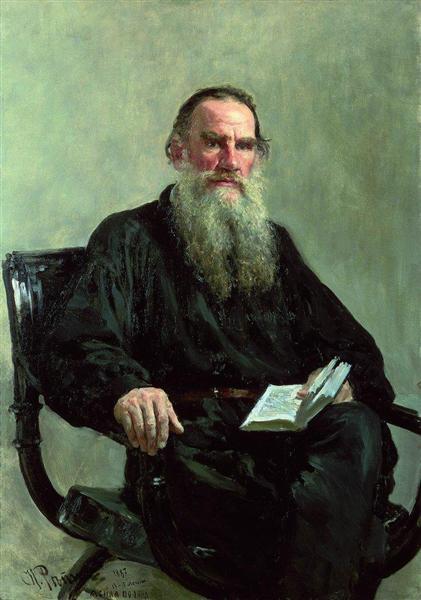Portrait of Leo Tolstoy - Ilya Repin
