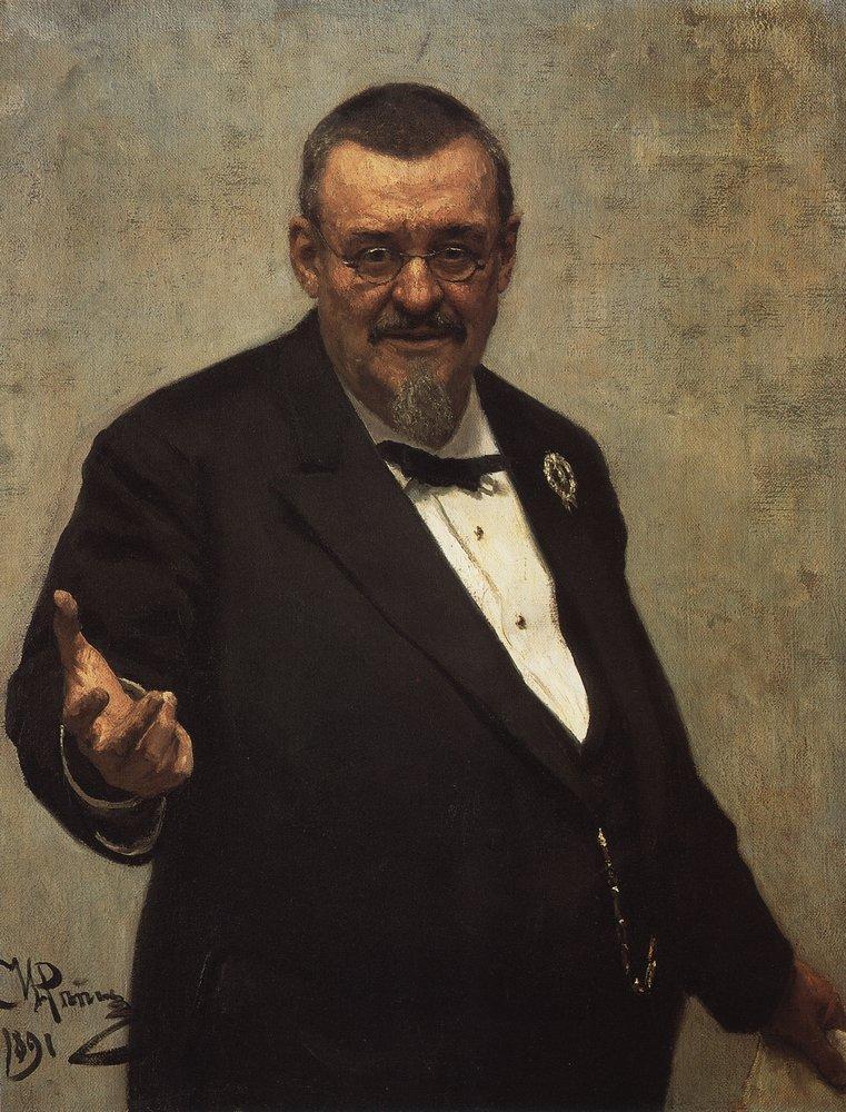 Portrait of the Lawyer Vladimir Spasovitch, 1891