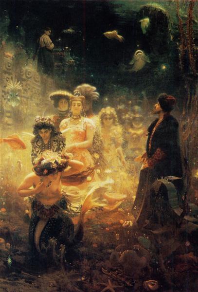 Sadko, 1876 - Iliá Repin