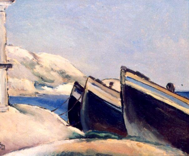 Boats, 1927 - Ion Theodorescu-Sion