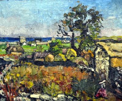 Landscape at Mangalia, 1943 - Ion Tuculescu