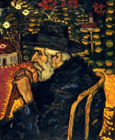Portrait of My Grandfather - Ion Tuculescu