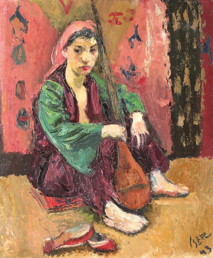 Odalisque with Mandoline, 1943