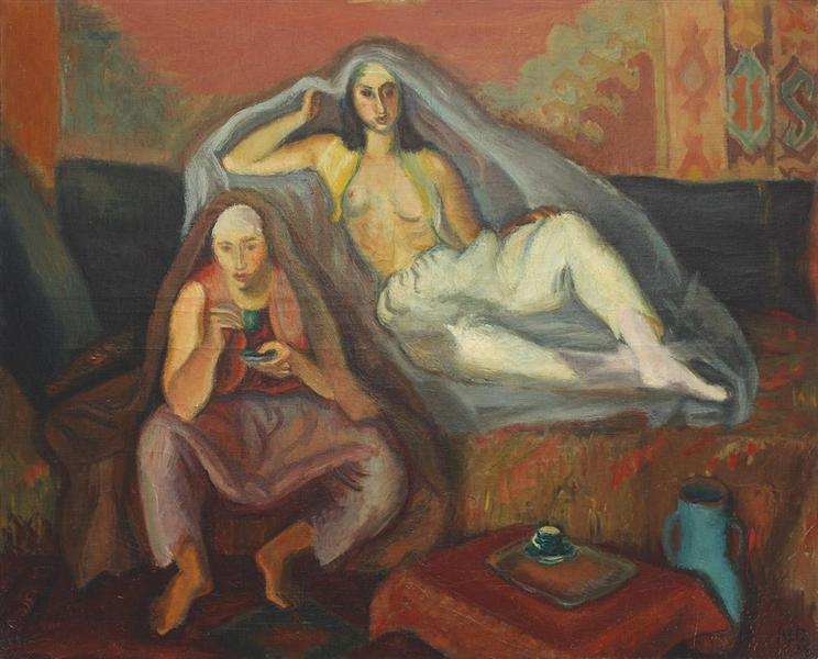 Tatar Interior, 1933 - Iosif Iser