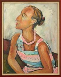 Portrait of Helene Kriel - Irma Stern