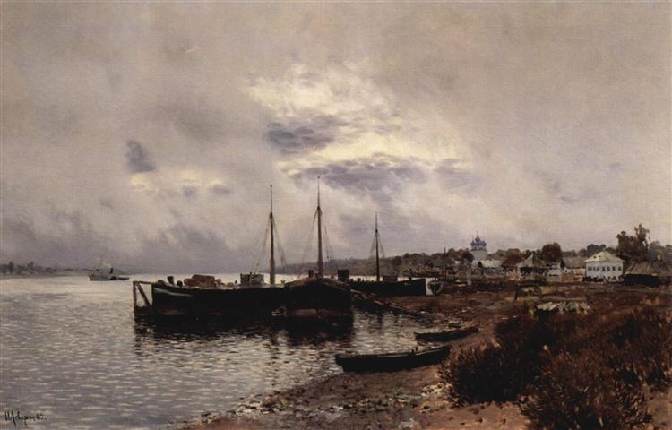 After the rain. Plyos., 1889 - Isaak Iljitsch Lewitan