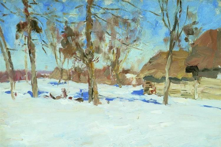 Early march, 1900 - Isaac Levitan