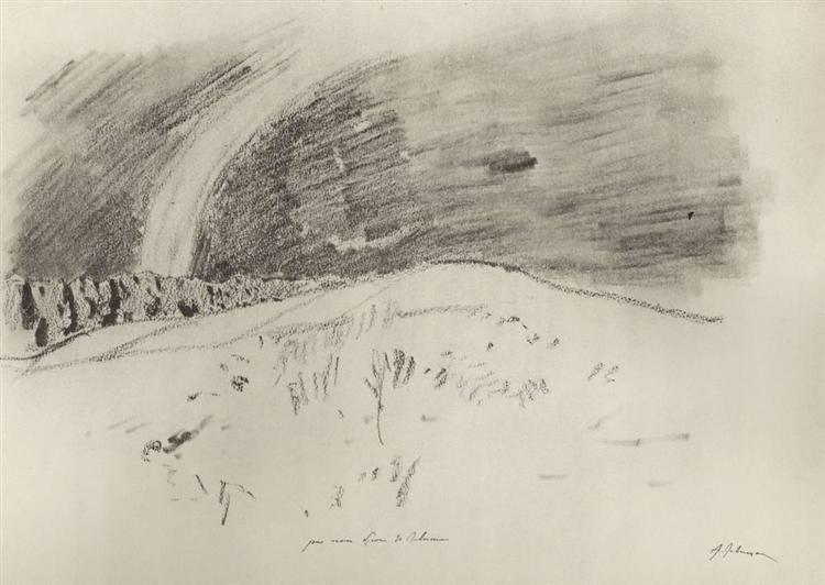 Rainbow, c.1900 - Isaac Levitan