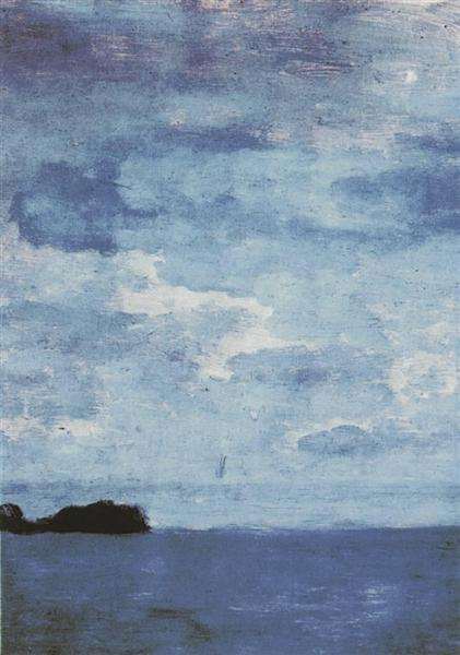 Sea. Finland., 1896 - Isaac Levitan