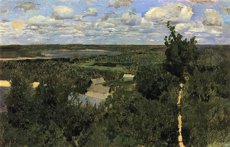 Wassylsursk, 1887 - Isaac Levitan