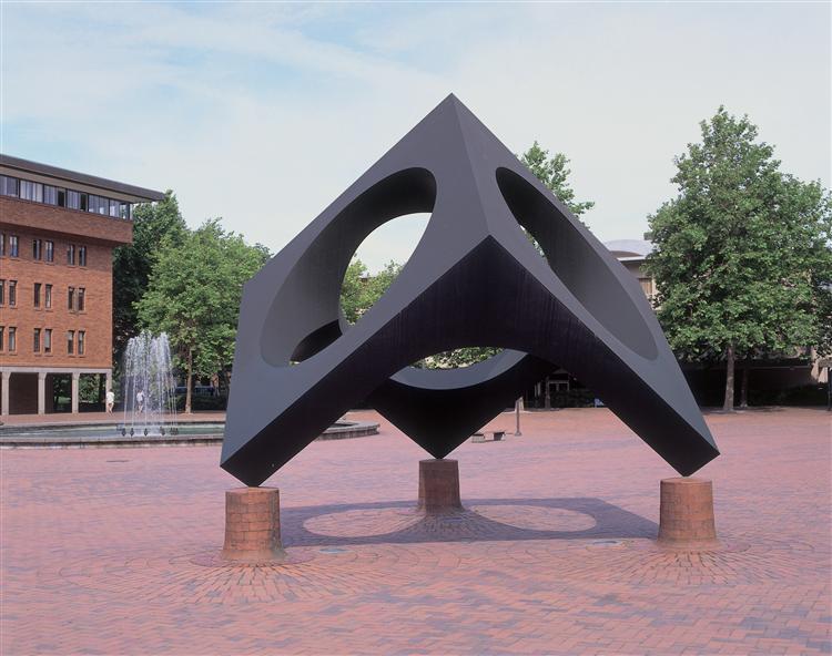 Skyviewing Sculpture, 1969 - Ногуті Ісаму
