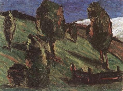 Transylvanian landscape, 1925 - Istvan Nagy