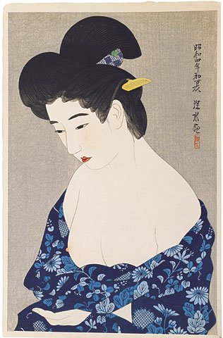 After the Bath, 1929 - Ito Shinsui