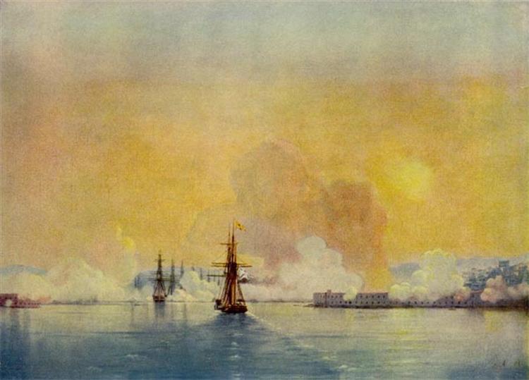 Arrival into Sevastopol Bay, 1852 - Ivan Aivazovsky