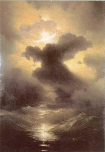Chaos (The Creation), 1841 - Ivan Aivazovsky