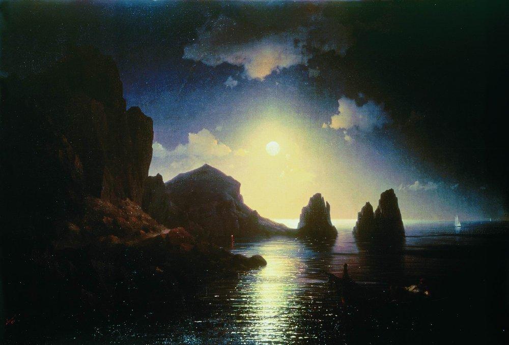 Sea view, 1841