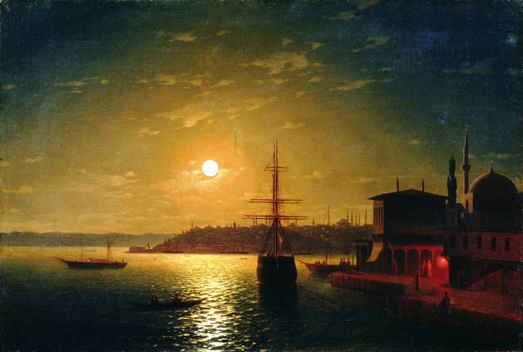 The Bay Golden Horn, 1845