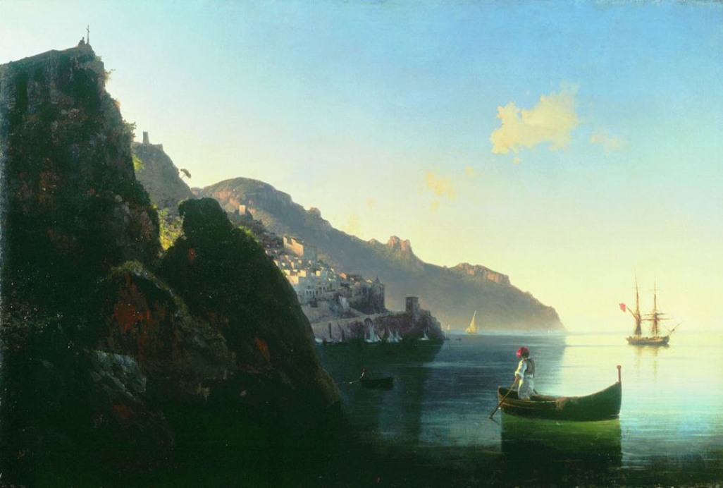 The Coast at Amalfi, 1841