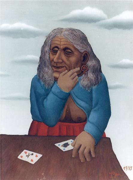 Divination, 1975 - Ivan Generalić