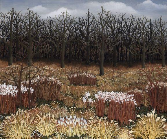 Landscape with grass, 1959 - Ivan Generalic